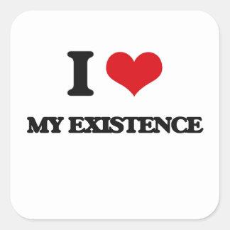 I love My Existence Square Sticker