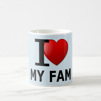 I Love My Fam Cup