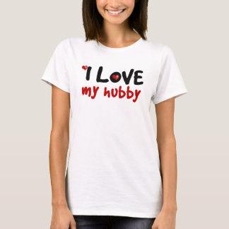 I Love My Family Couple Women's Basic T Shirt
