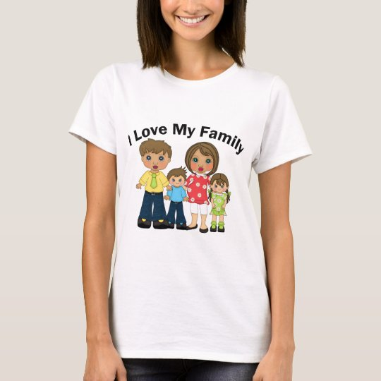 I Love My Family Tees and Gifts - Customize