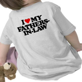 I LOVE MY FATHERS-IN-LAW TSHIRT