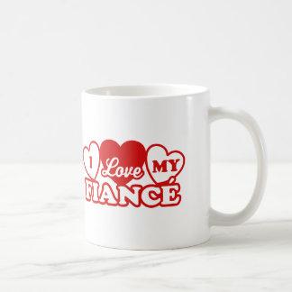 I Love My Fiance Coffee Mug