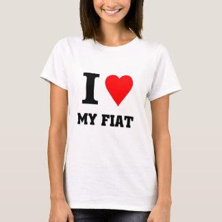 I love my fiat T-Shirt