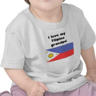 I Love My Filipino Grandpa T-shirts