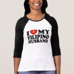I Love My Filipino Husband T-shirts