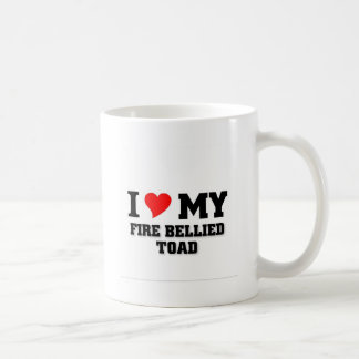 I love my Fire bellied toad Coffee Mug