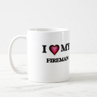 I love my Fireman Coffee Mug