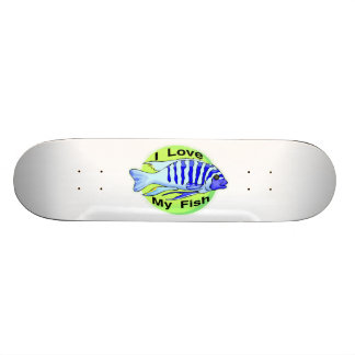 I Love My Fish Skateboard Decks