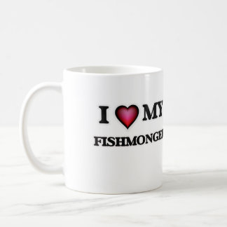 I love my Fishmonger Coffee Mug