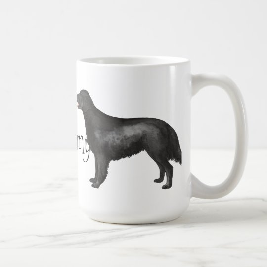I Love my Flat-Coated Retriever Coffee Mug