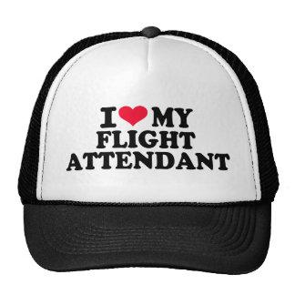 I love my Flight Attendant Trucker Hat