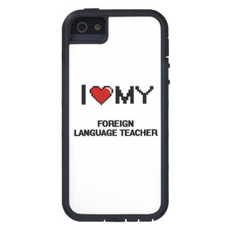 I love my Foreign Language Teacher Case For iPhone 5