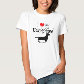 I Love My Foxhound Tees