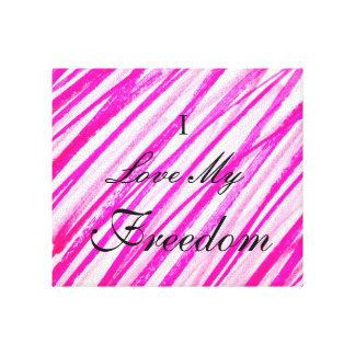 I Love My freedom canvas