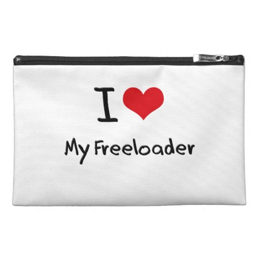 I Love My Freeloader Travel Accessory Bags