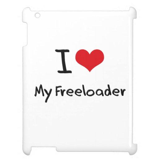 I Love My Freeloader iPad Cases