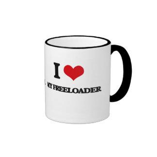 I Love My Freeloader Mugs