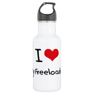 I Love My Freeloader 18oz Water Bottle
