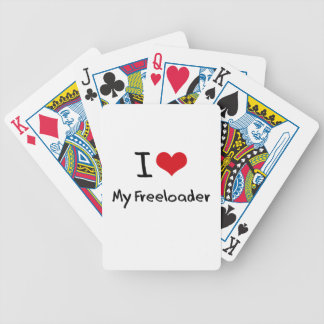I Love My Freeloader Bicycle Card Decks