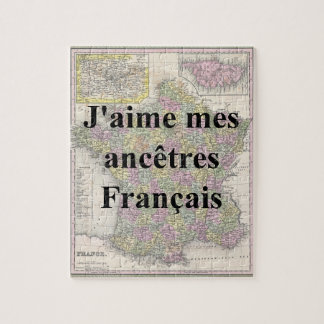 I love My French Ancestors | Custom Puzzle