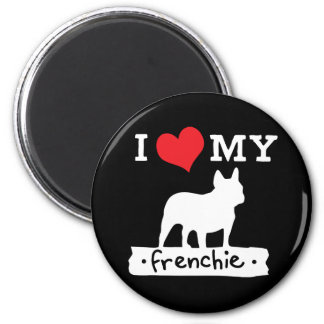 I Love My French Bulldog Magnet | by Mini Brothers