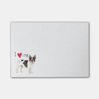 I Love my French Bulldog Post-it® Notes