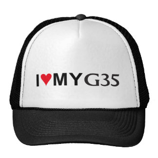 I Love my G35 Baseball Cap Trucker Hat
