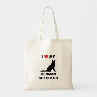 """""""I Love My German Shepherd"""" Tote Bag"""
