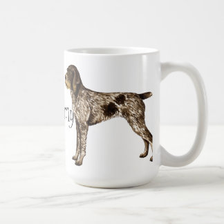 I Love my German Wirehaired Pointer Coffee Mug