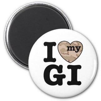 I Love My GI Refrigerator Magnet