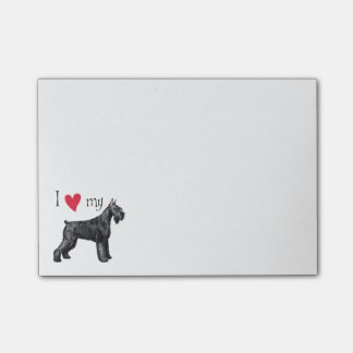 I Love my Giant Schnauzer Post-it® Notes