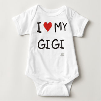 I LOVE MY GIGI BABY BODYSUIT