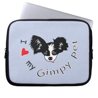 I love my Gimpy Pet Laptop Sleeve