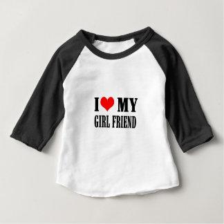i love my girl friend baby T-Shirt