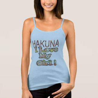 I love My Girl Hakuna Matata Tank Top