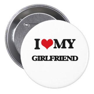 I love my Girlfriend 3 Inch Round Button