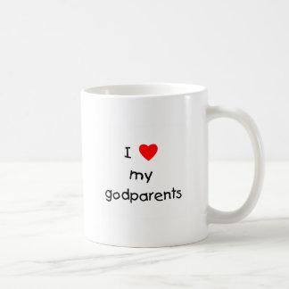 I Love My Godparents Coffee Mug