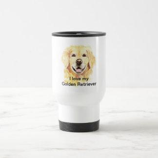 I Love my Golden Retriever, Dog, Pet Coffee Mug