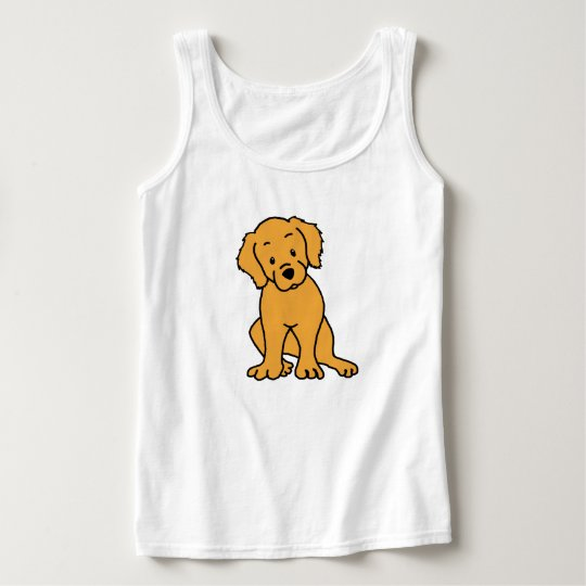 I Love My Golden Retriever Tank Top