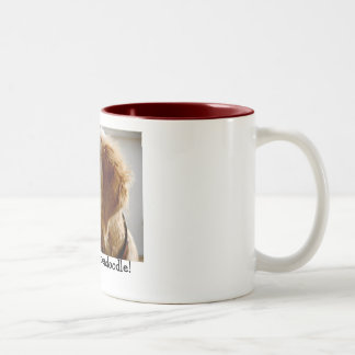 I Love my Goldendoodle! Mug