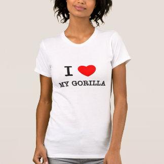 I Love My Gorilla T-Shirt