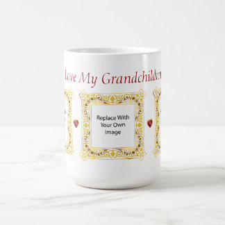 I Love My Grandchildren! Cameo Picture Mug #2