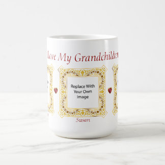 I Love My Grandchildren! Cameo Picture Mug #3