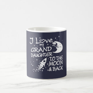 I Love My GrandDaughter to the Moon and Back Coffee Mug