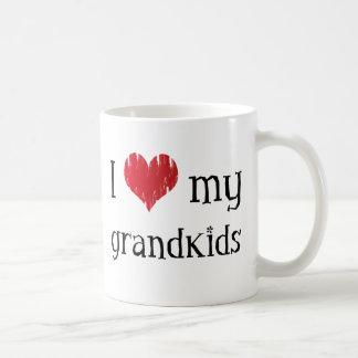 I love my grandkids coffee mug
