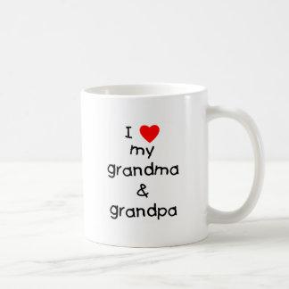 I love my grandma & grandpa coffee mug