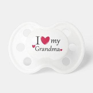 I Love My Grandma Pacifier