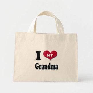 I Love My Grandma - Totebag Mini Tote Bag