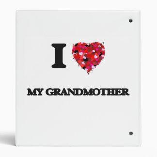 I Love My Grandmother Binders
