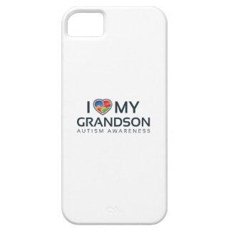 I Love My Grandson iPhone 5 Case